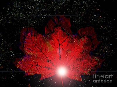 Night Light Art Print by Ann Johndro-Collins