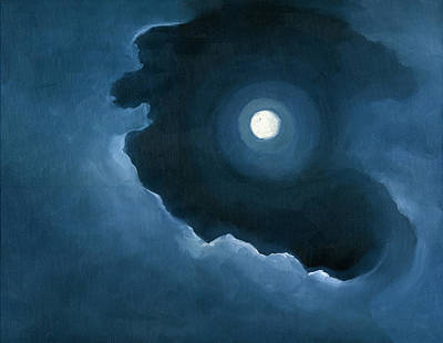 Painting - Night Light by Katherine Miller