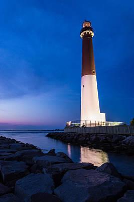 Jersey Shore Wall Art - Photograph - Night Light by Kristopher Schoenleber
