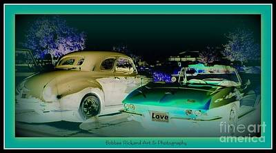 Photograph - Night Lights With The Classics by Bobbee Rickard