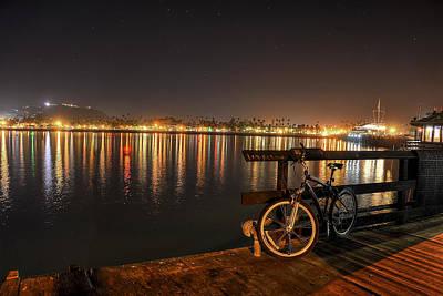 Photograph - Night Lights by Marta Cavazos-Hernandez