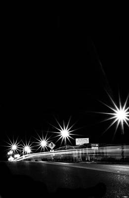 Photograph - Night Lights by Shelby  Young