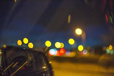 Digital Art - Night Lights by Susan Stone