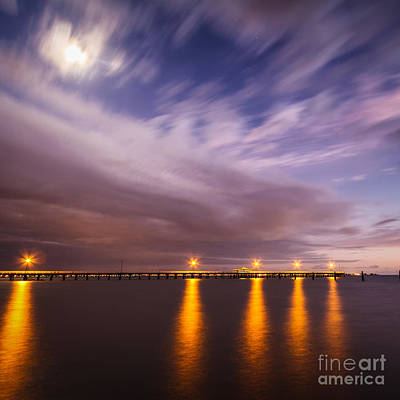 Photograph - Night Meets Day by Silken Photography