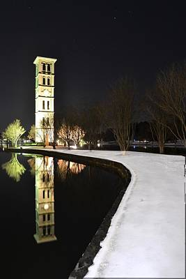 Photograph - Night Mirror by Jeff  Bjune