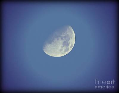 Night Moon Rising Art Print