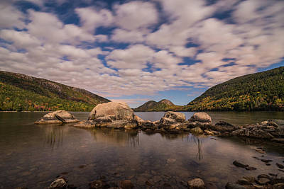 Jordan Pond Photograph - Night Moves by Kristopher Schoenleber