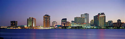 Orleans Photograph - Night New Orleans La by Panoramic Images