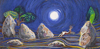 Night Of Mysteries Art Print