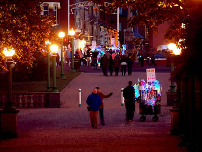 Family Night Out Photograph - Night On The Town by Susan Tinsley