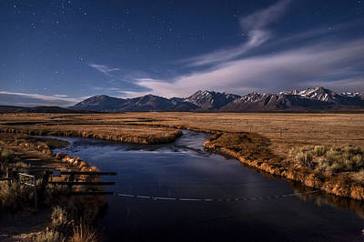 Photograph - Night On The Upper Owens by Cat Connor