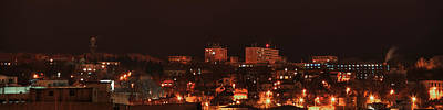 Photograph - Night Panorama From Iasi by Vlad Baciu