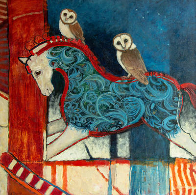 Painting - Night Riders by Jennifer Croom