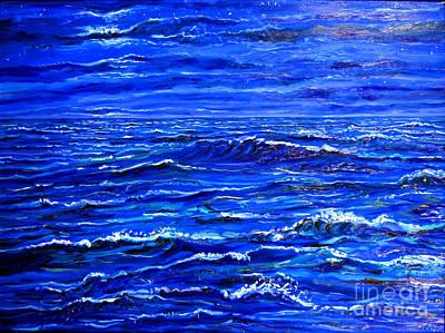 Night Sea Art Print by Arthur Robins