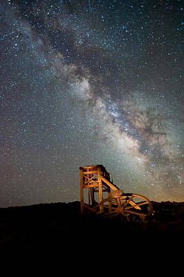Bodie Photograph - Night Shift by Cat Connor