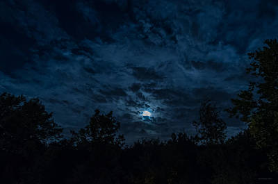 Photograph - Night Sky - Autumn 2 by Frank Mari