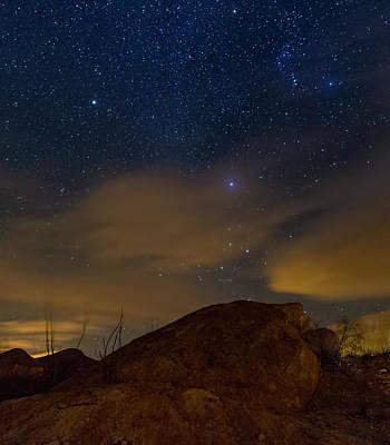 Night Sky Art Print by Beverly Parks