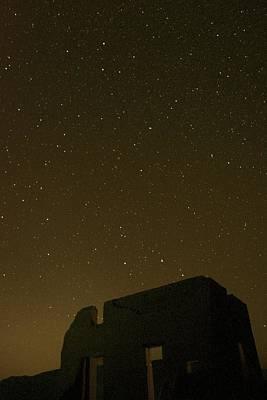 Night Sky Fort Churchill Art Print