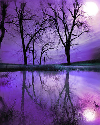Photograph - Night Sky In Purple by Gina Signore