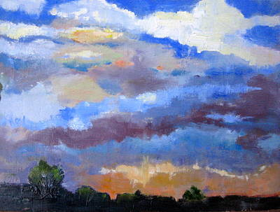 Painting - Night Sky by MaryAnne Ardito