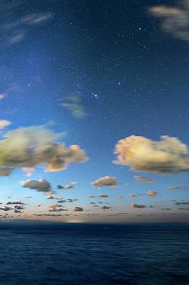 Sirius Photograph - Night Sky Over The Atlantic Ocean by Babak Tafreshi