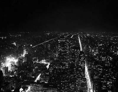 Sky Line Photograph - New York City by Retro Images Archive