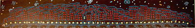 Night Time Big City Original by Joseph Hawkins