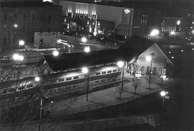 Photograph - Night Time Music City Star by Robert Hebert