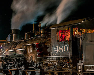 Photograph - Night Train by Al Reiner