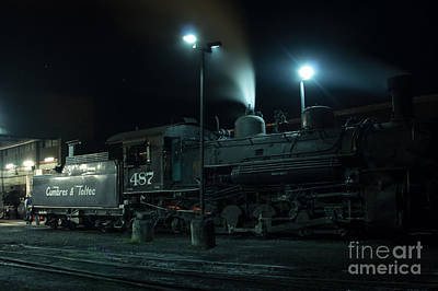 Photograph - Night Train by Jim McCain