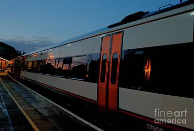 Night Train To London Art Print by Deborah Smolinske