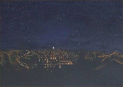 Painting - Night View Of San Miguel by Irene Corey