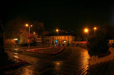 Photograph - Night View by Vlad Baciu