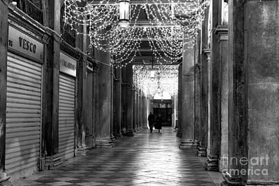 Photograph - Night Walk In San Marco by John Rizzuto