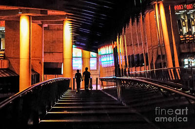 Photograph - Night Walk by Ray Warren