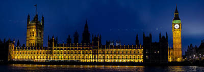 Westminster Photograph - Night Watch by Heather Applegate