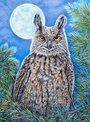 Painting - Night Watchman by Gail Butler
