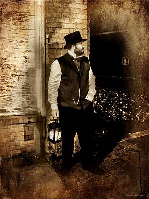 Artography Photograph - Night Watchman by Melissa Bittinger