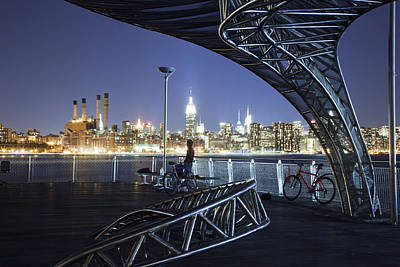 Williamsburg Photograph - Night Watchman by Mike Lang