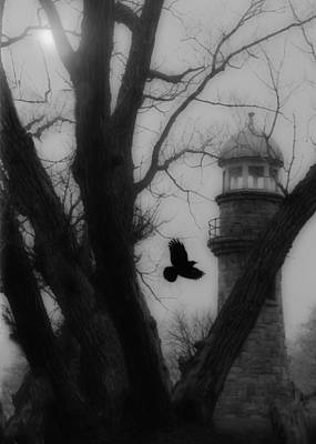 Surreal Art Photograph - Night Will Fall by Gothicrow Images