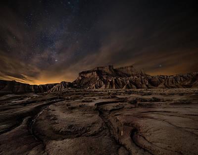 Night Photograph - Night Wind by I?igo Cia