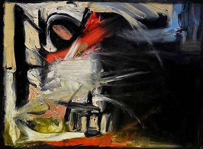Larry David Painting - Night Window by Antonio Ortiz