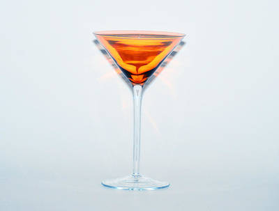 Food And Beverage Digital Art - Nightcap by Bill Cannon