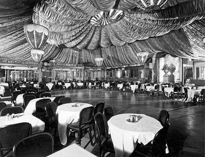 Dance Floor Photograph - Nightclub Interior by Underwood Archives