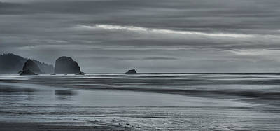 Photograph - Nightfall Along The Coast by Don Schwartz