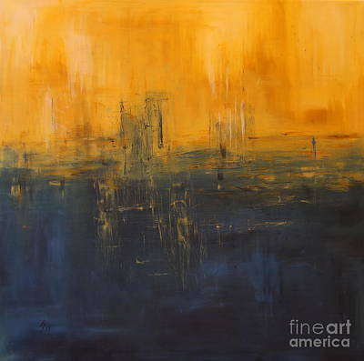 Painting - Nightfall by Christiane Schulze Art And Photography