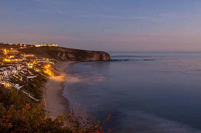 Photograph - Nightfall Strands Beach Dana Point by Cliff Wassmann