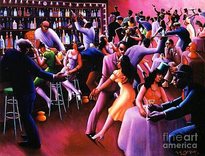 Harlem Painting - Nightlife by Pg Reproductions