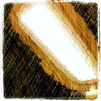 Bright Wall Art - Photograph - Nightlight #1stangel #art by Isabella Shores