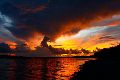Photograph - Nightly Show In The Florida Keys by Jon Emery